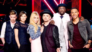 The Voice27 of 140 Credit (e.g. PA, Getty, Joe Bloggs)  Marvin Humes judges and hosts