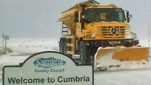 The gritters are ready for action.
