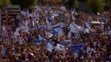 Pompey fans