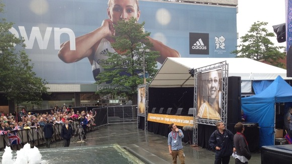 Stage is set for Jessica Ennis in Sheffield
