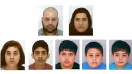 Family of seven missing and believed to have fled to Syria