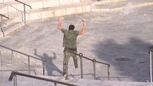 The man was shot and killed near Damascus Gate in Jerusalem