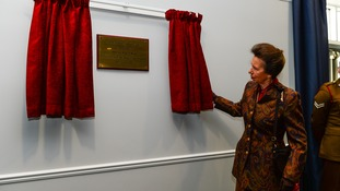 Princess Royal opens new multimillion pound Army headquarters in Stafford