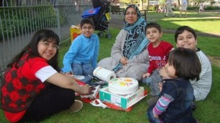 Dr Sabah Usmani and her five children were killed in the fire.