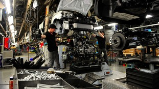 Workers at Nissan Sunderland