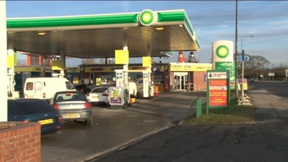 Petrol station