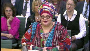 Camila Batmanghelidjh addresses questions from MPs.