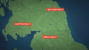 Three British Rally Championship events are to be held in our region