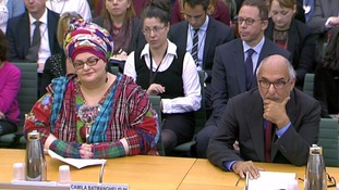 Kids Company founder Camila Batmanghelidjh and Alan Yentob, the chairman of trustees, face MPs.