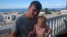 Jay Morton and his daughter Ella-Grace