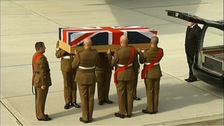 Repatriation ceremony