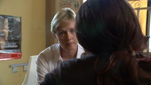 Julie Etchingham speaks to Grace about her experience of being trafficked for prostitution.