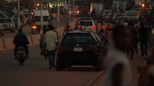 Busy streets in Nigeria's Edo State