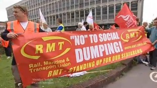 Protest over 'slave labour' claims