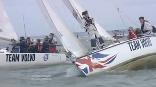Cowes Week - sailing on water