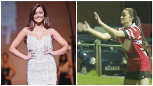 Miss Wales finalist swaps high heels for rugby boots