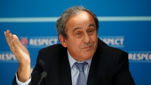 Michel Platini is appealing a 90-day suspension by FIFA's Ethics Committee
