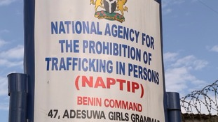 A national agency is trying to tackle the problem of human trafficking in Nigeria.