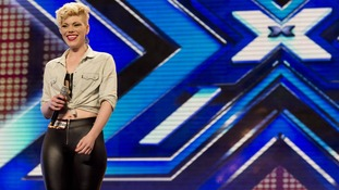 Undated handout photo of Zoe Alexander performing during the auditions for this year's X Factor.