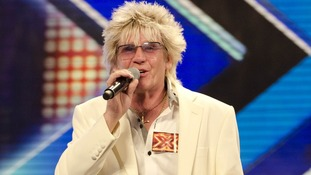 Rod Stewart lookalike Alexander auditions for The X Factor