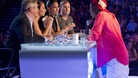 The X Factor judges hear from one contestant