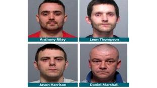 Four men sentenced over Adele Bellis acId attack