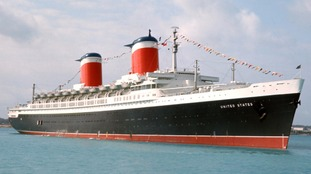 SS United States on a cruise to St. Thomas, 1966