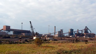 SSI Steelworks in Redcar.