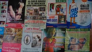 Around half of trafficking suspects are women