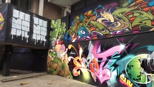 Bristol's graffiti artists throw a party