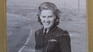Flying before you can drive: Female WWII pilot honoured