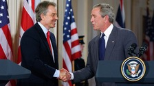 Emails reveal Blair's 'deal' with Bush over Iraq war.
