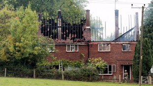 The fire service believes one person died in the fire in Hertfordshire.