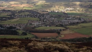Eildon Hills, part of the Borders which could be granted National Park status