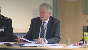 Cumbria's Police and Crime Commissioner Richard Rhodes