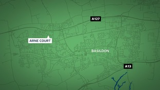 Seven men have been arrested in Basildon following a firearms incident.