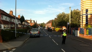 The children aged two and ten have had surgery after being hit by a car in the Hyde Park area of Leeds.