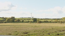 Wind turbine at Oughterside