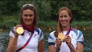 Victory bus tour for Cornish Olympian