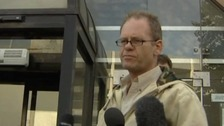 Kevin Wright was released earlier this month, after serving two years in prison for several counts of theft and fraud.