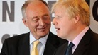 Ken Livingstone and Boris Johnson after Johnson won the last mayoral election in 2008