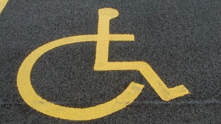 The victim was parking in a disabled bay when she was abused