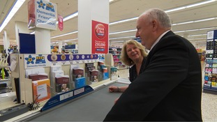 Dementia friendly checkout