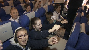 200 children with serious illnesses or disabilities have jetted off to Walt Disney World in Florida.