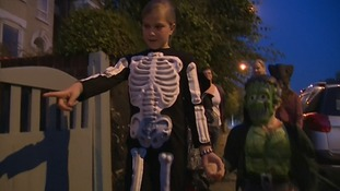 Fire safety warning over Halloween fancy dress