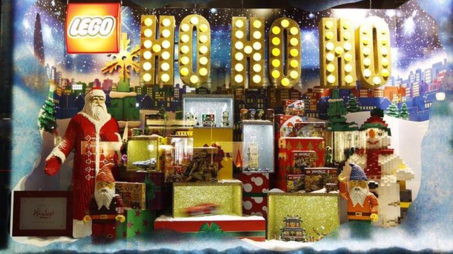 Christmas Toy Store : Lego set to run short of bricks this christmas itv news