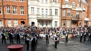 Ecuadorian embassy in London.