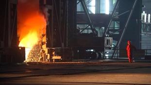 Steel company near Shanghai