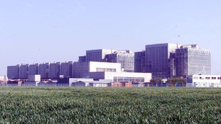 The plant in Bradwell, pictured in 2002 as it came to the end of its previous lifespan