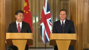 David Cameron says the strong relationship between Britain and China enables him to have 'frank and necessary' discussions on other issues.